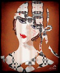 Fantasy Girl (SØS: Thank you for all faves + visits) Tags: digitalart digitalartwork art kunstnerisk manipulation solveigøsterøschrøder artistic draw girl lady paint 100views