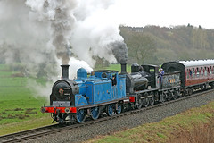 419 Caledonian Railway 0-4-4 (1907) (Roger Wasley) Tags: 419 caledonian railway 044 2890 hunslet 060st burrs country park east lancashire steam locomotive engine heritage preserved preservation