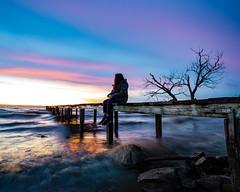 Enchanted (Cristiano Pelagracci) Tags: nature sunset colors trasimeno water acqua lake lago landscape paesaggio paesaggi canon italia