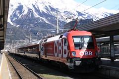 OBB 1116 225 te Innsbruck HBF (vos.nathan) Tags: taurus obb österreichische bundesbahnen innsbruck hbf hauptbahnhof matrei am brenner