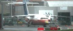 OO-DJE ex-Sabena BAe 146 BRU fire service (kitmasterbloke) Tags: brussels zaventem bru ebbr aircraft aviation jet belgium outdoor transport
