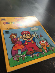Super Mario Bros Paint n Marker Book 1989 Nintendo_02 (gamescanner) Tags: nintendo mario bros coloring book golden kids activity video games 1989 isbn 030701598x 03350015984