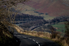 Twists and Turns (Andrew Shenton) Tags: green lune gorge cumbria virgin pendolino