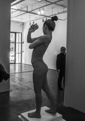 D7K_2714_ep (Eric.Parker) Tags: newyork nyc ny bigapple usa manhattan 2017 bw chelsea gallery sculpture