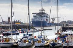 NKT Victoria, Port of Sunderland (DM Allan) Tags: portofsunderland sunderland wearside nktvictoria roker marina river wear