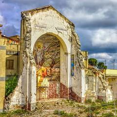 .. quel che resta .. (rikkuccio) Tags: church chiesa abside destroyed terremoto earthquake frana flickrsicilia sicilia sicily rikkuccio messina sanfratello