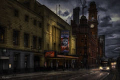 Palace Theatre, Manchester (Kev Walker ¦ 10 Million Views..Thank You) Tags: architecture building city england manchester panoramic sky town water art background bridge britain buildings business canal castlefield center centre cityscape design downtown dusk europe european great kingdom landmark light metropolitan modern night places quays quayside reflection salford skyline skyscraper square symbol tourism tower travel twilight uk united urban view yellow