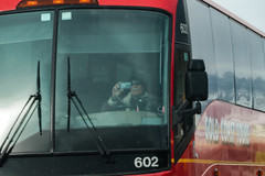 Distracted Bus Driver ? (RS2Photography) Tags: charterbus charter idiotdriving 2019 goldcoasttours bus602 busdriver distracted dangerous us395 bridgeport highway395 mono monocounty california driving flickr smugmug photography easternsierra sierranevada bridgeportca oldman