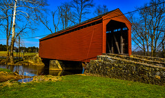 2019-04-06 Loys Station Covered Bridge-8844 (By The Bay Photos) Tags: frederickcounty maryland mdloysstation loysstationcoveredbridge coveredbridge covered bridge