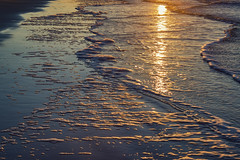 Kiawah Water Light (matthewkaz) Tags: ocean atlanticocean water reflection reflections waves sunrise sun seafoam beach sand coast coastline shore shoreline kiawah kiawahisland sc southcarolina 2017