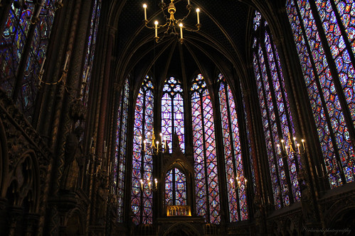 St Chapelle Stained Glass