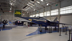 Fairey Delta 2 c/n F.9422 United Kingdom Air Force serial WG777 (sirgunho) Tags: royal air force raf museum cosford united kingdom england aircraft preserved aviation display static fairey delta 2 cn f9422 serial wg777