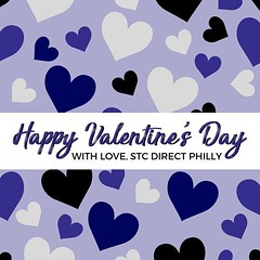 With love, we wish you the best Valentine's Day! Comment your big plans for this lovely day! 💜🙌 • • • • • #stcdirectphilly #philly #valentinesday #vday #valentine #bemine #beminevalentine #love #instalove #holiday #celebrate #ilo (stcdirect) Tags: stc direct philly working reviews careers small business entrepreneurship team