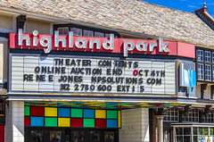 Highland Park Theater Marquee (Eridony (Instagram: eridony_prime)) Tags: highlandpark lakecounty illinois chicagoland suburb metrochicago suburbanchicago downtown theater theatre movietheater marquee sign constructed1925