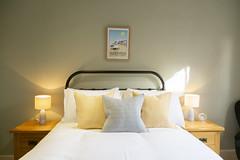 Room 1 bed at The Cross Keys Aldeburgh (Adnams) Tags: thecrosskeysaldeburgh crosskeys aldeburgh suffolk pub adnams