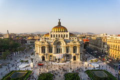 Palacio de Bellas Artes (doug.barnard) Tags: mexicocity mexico city southamerica south america travel landscape bellas artes palacio ciudad plaza museum museo