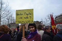 8 mars 2019 - Paris République (Jeanne Menjoulet) Tags: paris 8mars 2019 femmes féminisme droitdesfemmes womenrights feminism 8march rally manif rassemblement demo demonstration égalité mâle