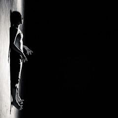 deep space (-dubliner-) Tags: ballerina dancer dark woman square contemporarydance