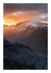 Dinorwig - January 17th (Edd Allen) Tags: mountain northwales wales clouds dinorwig landscape mountainscape atmosphere atmospheric sunrise nikond810 nikkor70200mm serene bucolic uk dinorwic quarry slate