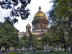 Saint Isaac's Cathedral (janepesle) Tags: russia saintpetersburg architecture travel church orthodox nature city cityscape outdoors urban park tree autumn санктпетербург исаакий пейзаж