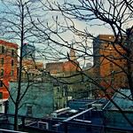 West Side View - New York City thumbnail