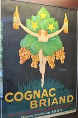 Affiche pour le cognac Briand - Musée des Arts du cognac, Cognac (16) (Yvette G.) Tags: cognac 16 charente poitoucharentes nouvelleaquitaine musée muséedesartsducognac