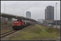 DB Cargo 6425, Amsterdam (J. Bakker) Tags: db dbc cargo 6400 6425 uc unit amsterdam westhaven nederland