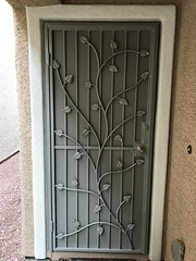 """Floral Security Screen Door • <a style=""""font-size:0.8em;"""" href=""""http://www.flickr.com/photos/113341785@N07/40559191423/"""" target=""""_blank"""">View on Flickr</a>"""