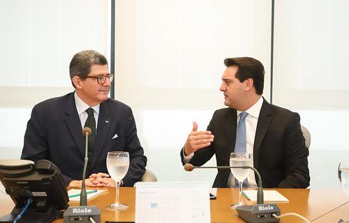 Reunião com o Presidente do BNDES, João Levy - Rio de Janeiro