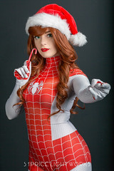 MJ (S1Price Lightworks) Tags: mary jane watson mj spinneret marvel comics cosplay cosplayer cosplays girl merry christmas happy holidays beauty spiderman spiderverse stan lee comiccon comic portrait portraiture photography 2018 thwip peter parker
