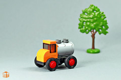 Micro tank truck (moctown) Tags: lego truck vehicle microscale micro toy