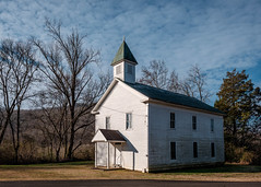 Sweetens Cove Primitive Baptist Church - 1853. (Mr. Pick) Tags: sweetens sweedens cove primitive baptist church tn tennessee battle hospital union confederate