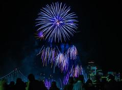 welcoming 2019 (pbo31) Tags: bayarea california nikon d810 night dark black newyearseve boury pbo31 sanfrancisco city treasureisland fireworks 2019 holiday january color baybridge motion blur