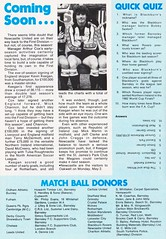Barnsley vs Blackburn Rovers - 1983 - Page 30 (The Sky Strikers) Tags: barnsley blackburn rovers oakwell review football league division two the official match day magazine 35p