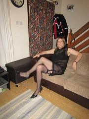 4-1-19 Sheer Black Dress (8) (Sarah Louise Taylor) Tags: gay gurl cd crossdresser tranny transvestite