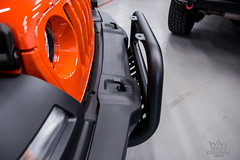 Jeep Wrangler Jl Orange Front Bumper Guard With Skid Plate (crownautony) Tags: jeep wrangler jl orange front bumper guard with skid plate
