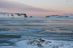 Iceland in winter (Petra S photography) Tags: vik iceland island islande winter ice winterstimmung winterday pastelcolours wintermood winterlandschaft