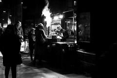 Waiting time (mau meda) Tags: bologna street photograpy blackandwhite people waiting marroni winter coold cool like beautiful town light