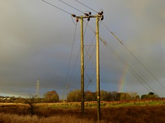 Public Right of Way SC1 (Brian Cairns) Tags: towers pylons electricity woodendess gartcosh gartloch brianbcairns rain incoming deviation power