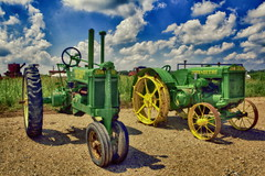John-Deere Traktoren (olds.wolfram) Tags: johndeere traktoren traktor john deere tractor gerät ackergaul