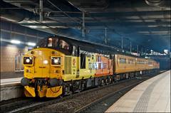 37099, Manchester Victoria (UK), 17/01/19 (bontybermo402) Tags: 37521 37099 3q67 manchestervictoria nevillehill colas class 37 tractor plpr network rail testtrain refurbsrule