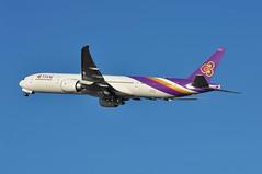 TG0911 LHR-BKK (A380spotter) Tags: takeoff departure climb climbout gearinmotion gim retraction boeing 777 300er hstkl สุนันทา sunanda thaiairwaysinternational tha tg tg0911 lhrbkk runway27l 27l london heathrow egll lhr