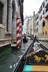 Barber Poles (Worthing Wanderer) Tags: venice italy easter spring europe canals tourists clouds sunshine venezia april