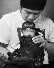 Nui and Nawinda (martinyasmine) Tags: newborn baby kids children asian monochrome portrait
