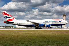 G-CIVU, British Airways, Boeing 747-436, KMIA, February 2019 (a2md88) Tags: