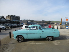 1959 Ford Zephyr Ute (occama) Tags: 870yuj 1959 ford zephyr ute pickup australian import old car cornwall uk blue sun sunny