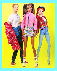 stick out ya tongue (alexbabs1) Tags: the industry style lab dolls doll integrity toys luxe life convention 2018 janay gavin grant bellamy blue miss behave finley prince fashion cool swag socks boots heels sexy hot glam pigtails moment homme classic iconic yellow bright sarah palins bangs