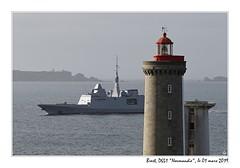 20190301_39015_brest_d651_normandie_1200px (ge 29) Tags: bretagne breizh finistere marine nationale french navy fremm normandie d651 minou phare lighthouse