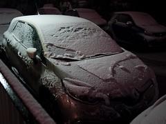Captur sous la neige (Dahrth) Tags: gf1 lumix20mm microquatretiers winter neige snow hiver renault renaultcaptur