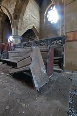 Church of Costa3 (Landie_Man) Tags: church costa urbex yorkshire coffee st andrews derp derpy religion abandoned disused closed shut retail survivor